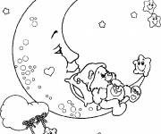 Coloring pages Moon