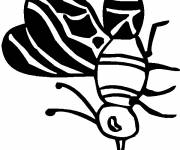 Coloring pages Little Mosquito in Black