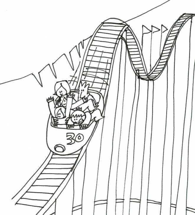 Free coloring and drawings Children in the Big Eight Coloring page