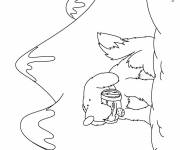 Coloring pages Mountain to save