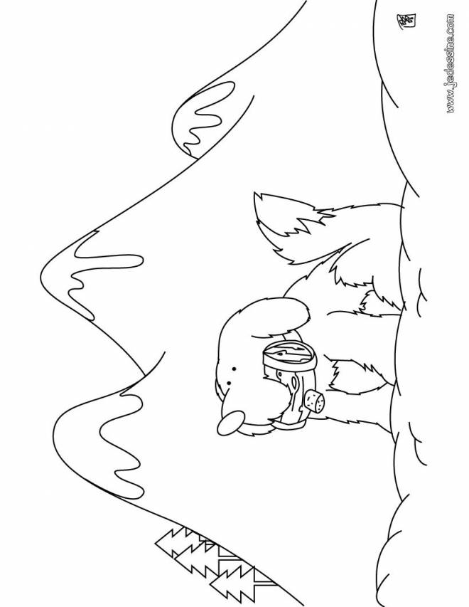 Free coloring and drawings Mountain to save Coloring page
