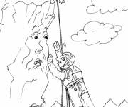 Coloring pages Talking Mountain