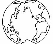 Coloring pages Earth to download