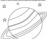 Coloring pages Giant Saturn