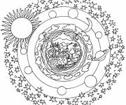 Coloring pages Planet