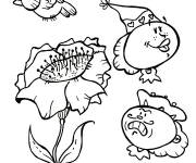 Coloring pages Cartoon poppy