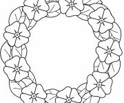 Coloring pages Poppy chain
