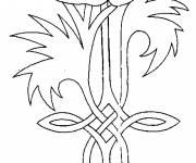 Coloring pages Symbol poppy