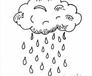 Coloring pages Rain