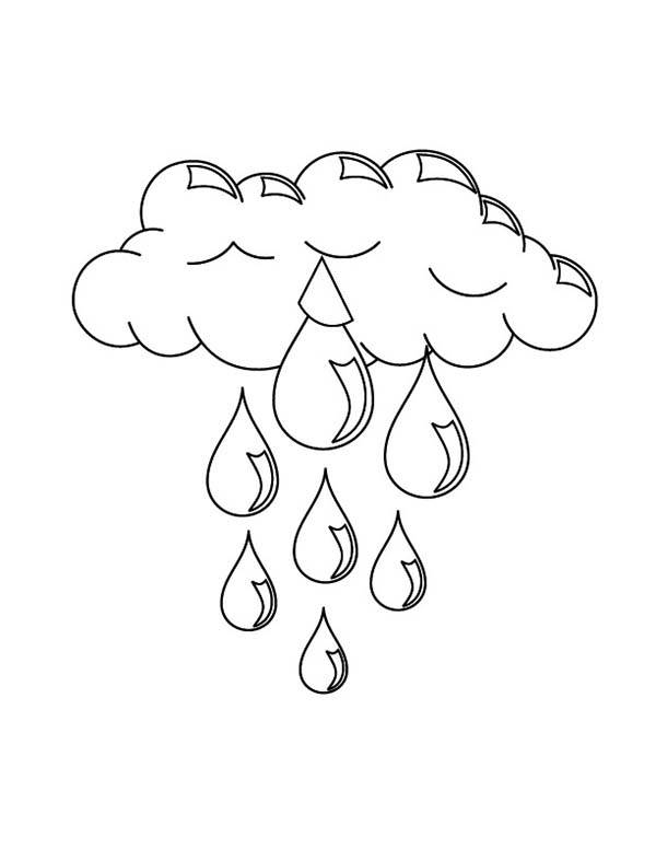 Free coloring and drawings Huge Rain Caves Coloring page