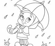 Coloring pages Rain 42