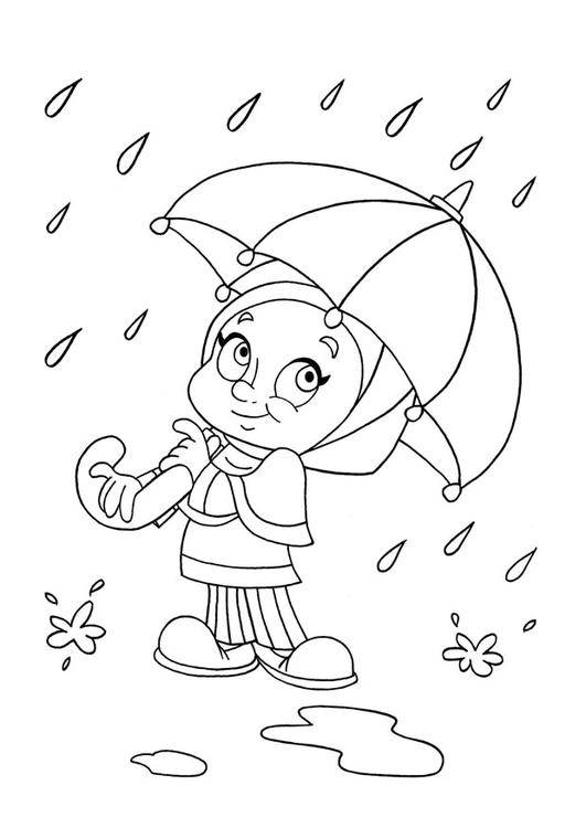 Free coloring and drawings Rain 42 Coloring page