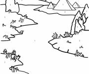 Coloring pages Nile River