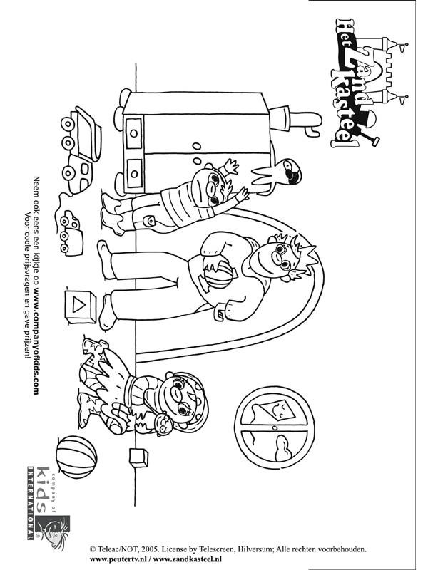 Free coloring and drawings Family have fun at home Coloring page