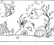 Coloring pages Seabed