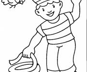 Coloring pages The Little Sailor