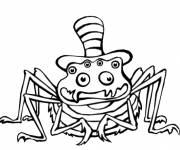Coloring pages Comic cartoon spider