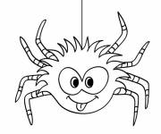 Coloring pages Hilarious spider