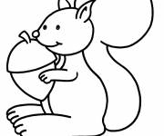Coloring pages Squirrel 26