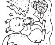 Coloring pages Squirrel 36