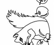 Coloring pages Squirrel image