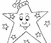 Coloring pages Christmas humor star