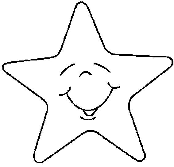 Free coloring and drawings Comic star for children Coloring page