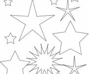 Coloring pages Star by all