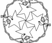 Coloring pages Stars and Children