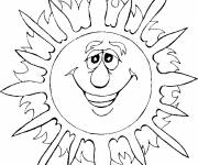Coloring pages Sun 73