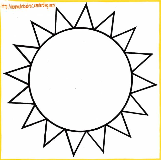 Free coloring and drawings Sun in color Coloring page