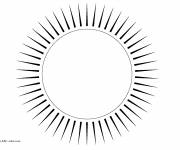 Coloring pages Sun on computer