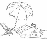 Free coloring and drawings The Maternal Beach Coloring page