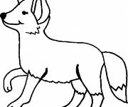 Coloring pages Color fox