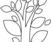 Coloring pages Abstract Tree