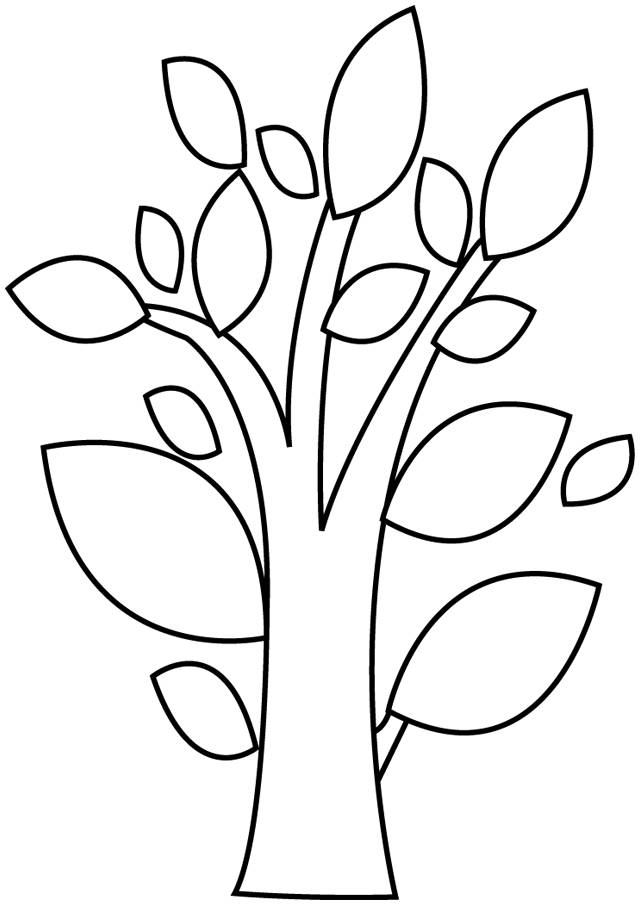 Free coloring and drawings Abstract Tree Coloring page