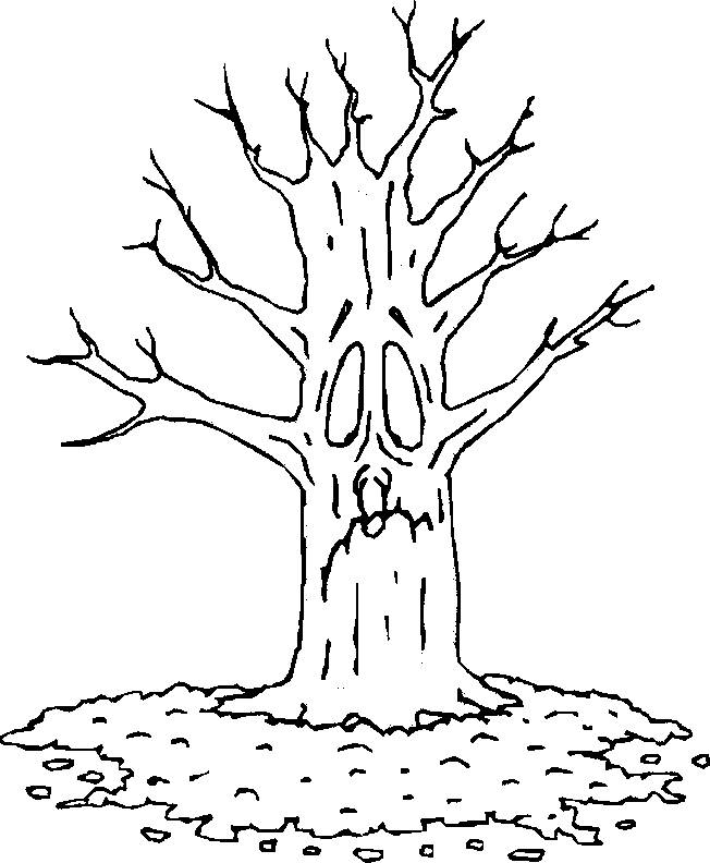Free coloring and drawings No trees Coloring page