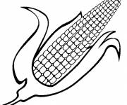 Coloring pages Nutritious soy