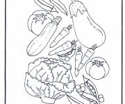 Coloring pages Vital vegetables