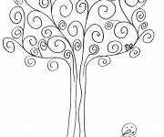 Coloring pages Winter season