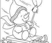 Coloring pages Winter season for children