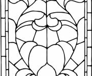 Coloring pages Abstract Church