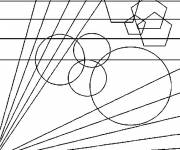 Coloring pages Maternal abstract