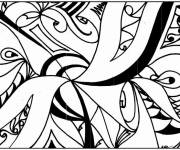Coloring pages Vector abstract background