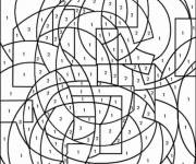 Coloring pages Addition and Color