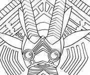 Free coloring and drawings African Animal Online Coloring page