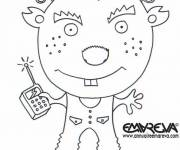 Coloring pages Alien coloring