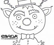 Coloring pages Alien for the Little Ones