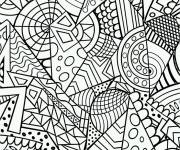 Coloring pages Anti-Stress Art to be colored