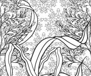 Coloring pages Nature Anti-Stress